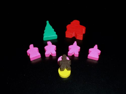Santa's Workshop: Meeples