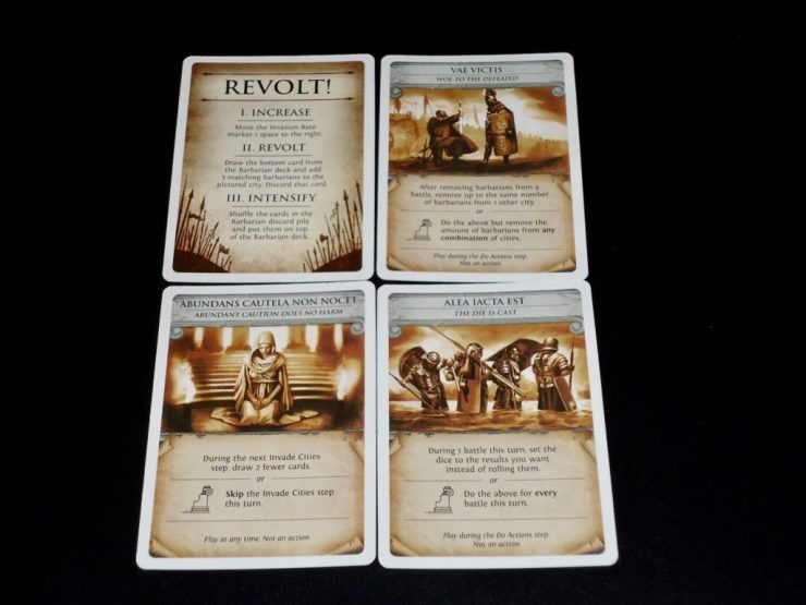 Pandemic Rome: Events
