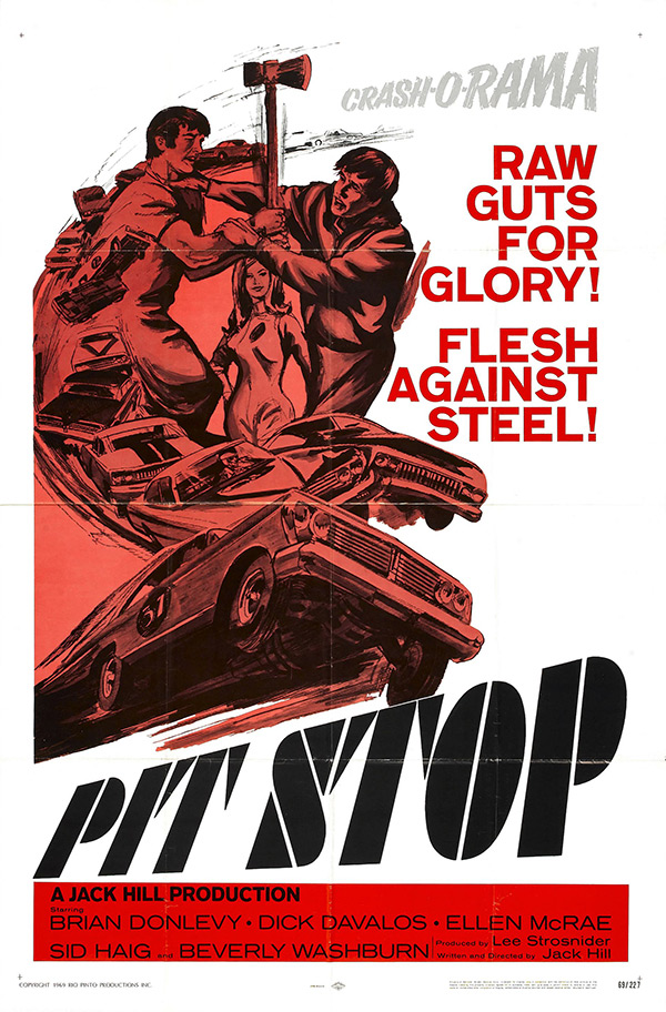 grindhouse style movie poster