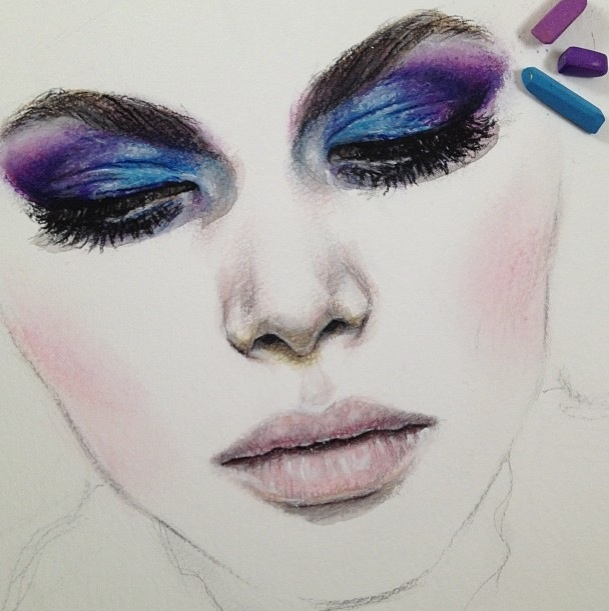 Face drawings for makeup makeupink makeup image 1114936 by y on favim com ccuart Images