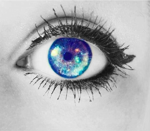 Image result for universe in eyes  tumblr