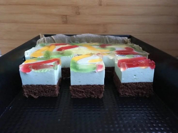 , Ciasto kolorowa dżdżownica