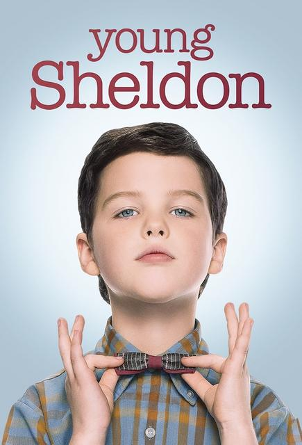 Young Sheldon TV Poster