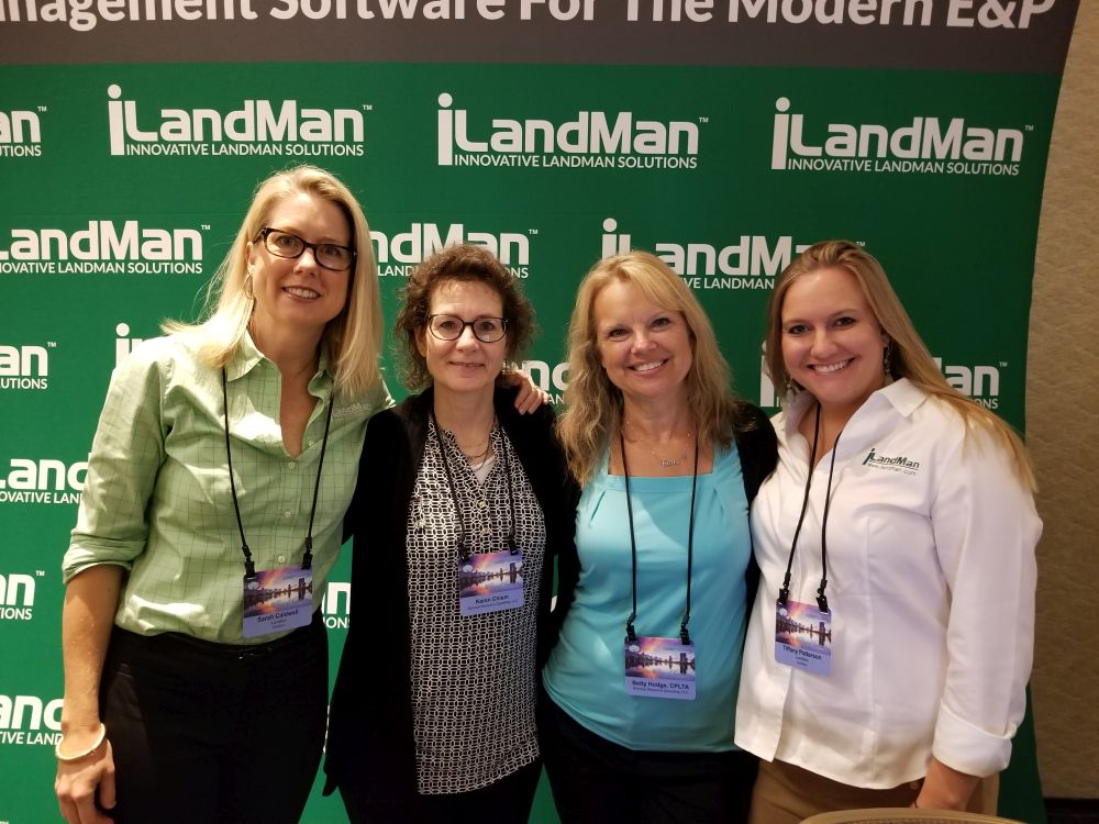 Sarah Caldwell, Karen Chism, Betty Hodge, Tiffany Patterson - 2018 NALTA Annual Conference