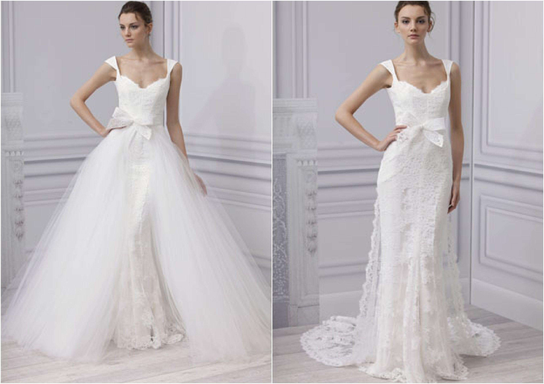 Wedding Dresses With An Overskirt