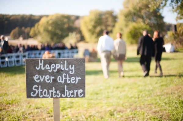 Charming Rustic Fall Wedding Rustic Wedding Chic