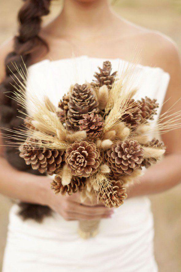 20 Winter Wedding Bouquets Rustic Wedding Chic