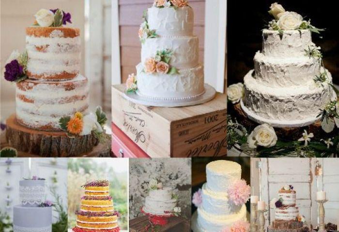 Vintage Style Wedding Cakes Rustic Wedding Chic