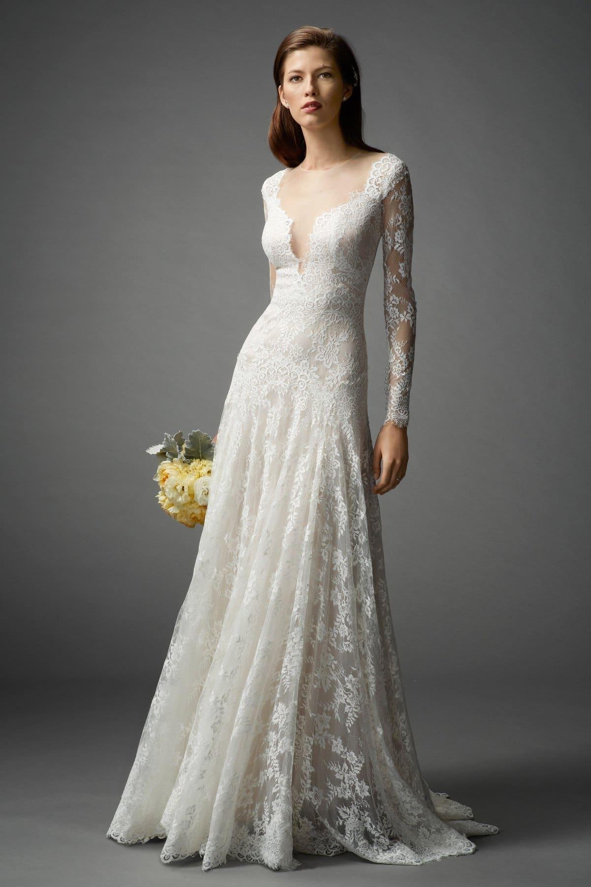 Long Sleeved Wedding Dresses We Love