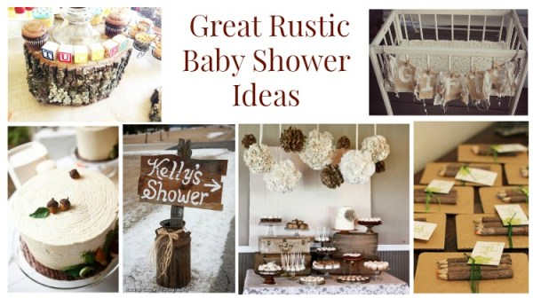 20 Rustic Baby Shower Ideas - Rustic Baby Chic
