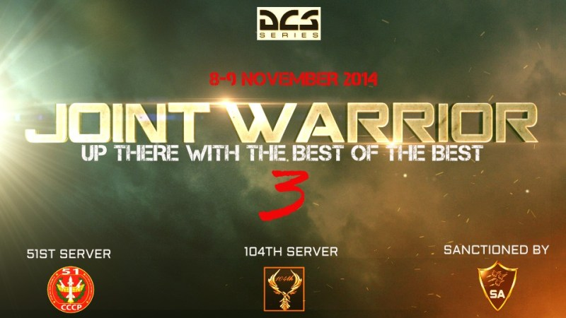 joint warrior 3 online dcs battle banner