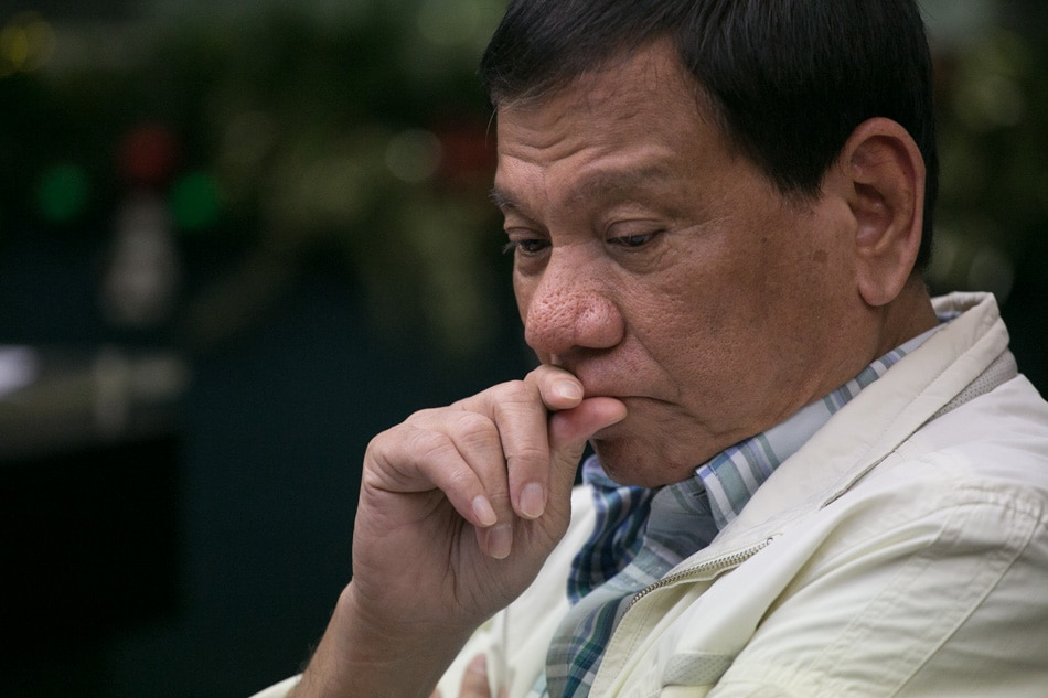 Image result for duterte sad