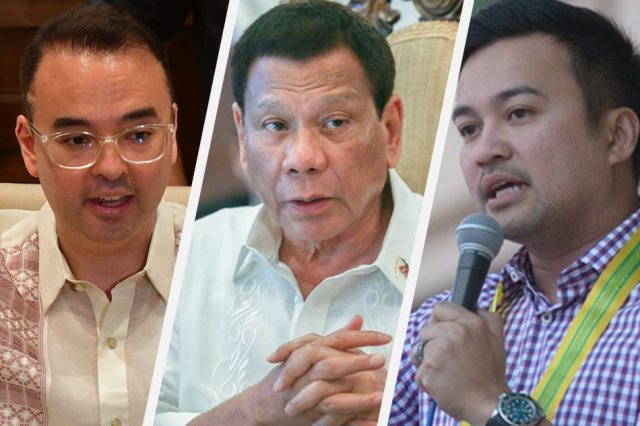 No more term-sharing? Palace says Duterte's hands tied unless Velasco has  numbers | ABS-CBN News