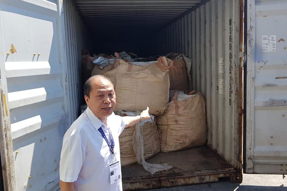 2,400 tons of waste in Misamis Oriental sent back to South Korea
