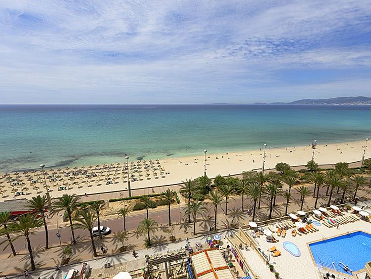 hotel hipotels gran playa de palma in