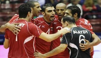 منتخب مصر يحقق أول انتصار بمونديال الطائرة
