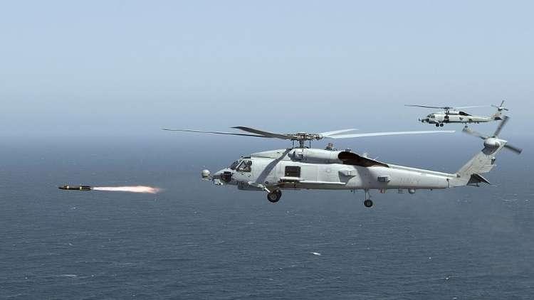 السعودية تتسلم المروحية « MH-60R» متعددة المهام