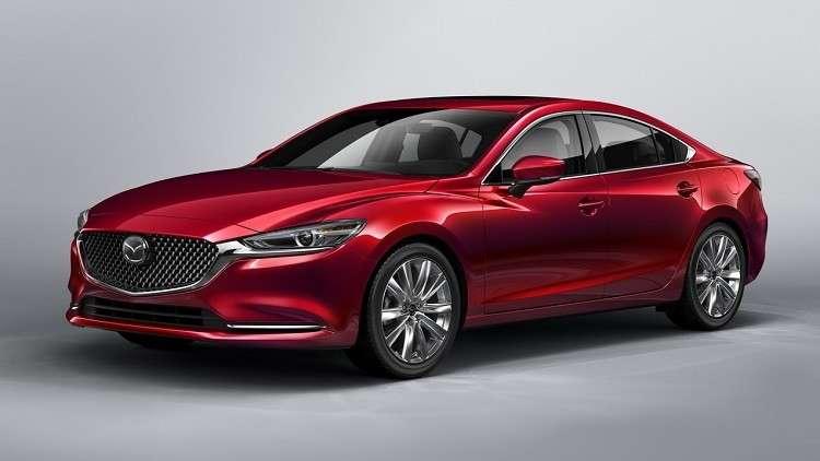 """وكلاء مازادا يستقبلون """"Mazda6"""" المعدلة"""