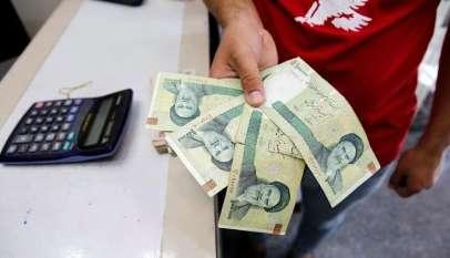 انخفاض الريال الإيراني نحو 10% 7