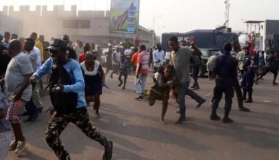 قوات الأمن الكونغولية تعتقل العشرات من أنصار المعارض مارتن فايولو 18