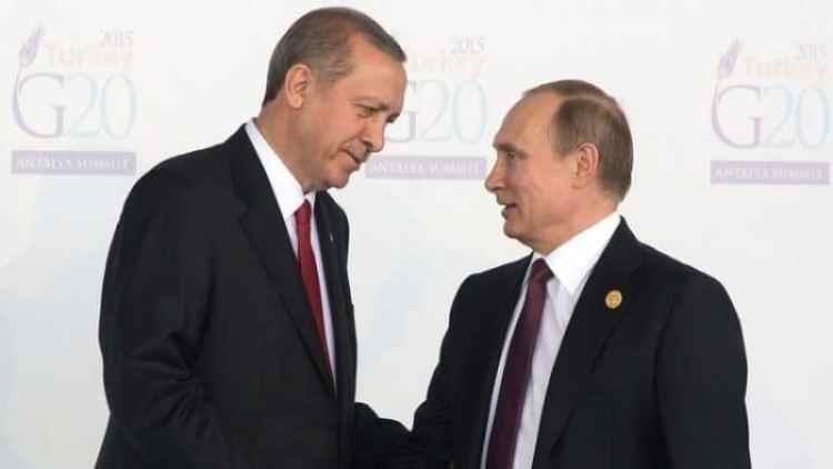 أردوغان في روسيا قريبا