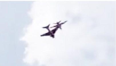 اصطدام طائرتين بالهند ومصرع طيار 1