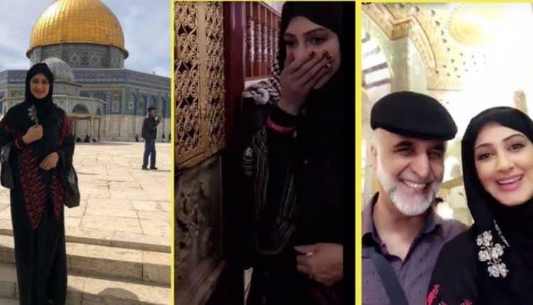 هيفاء حسين المسجد الاقصى قبلة اليهود 1