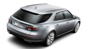 Test eerst Saab 9-5 stationwagon
