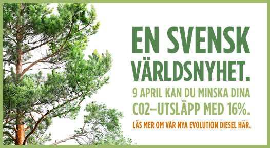 Grüne Evolution aus Schweden