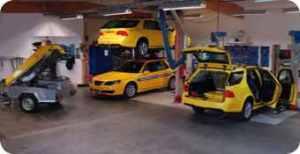 Sarsys Saab 9-5 Friction Tester Workshop