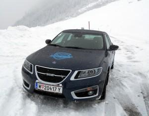 Saab 9 5 XWD in Mayrhofen