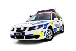 Saab 9-5 Polis - the successor comes.