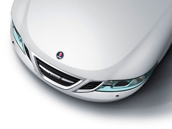 Saab 9-3 headlamp in Iceblock design