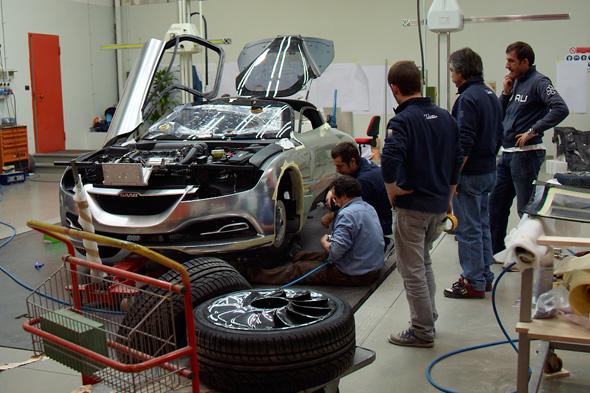"""Creación de: Saab PhoeniX Concept Car, imágenes exclusivas """"Car Magazine"""""""