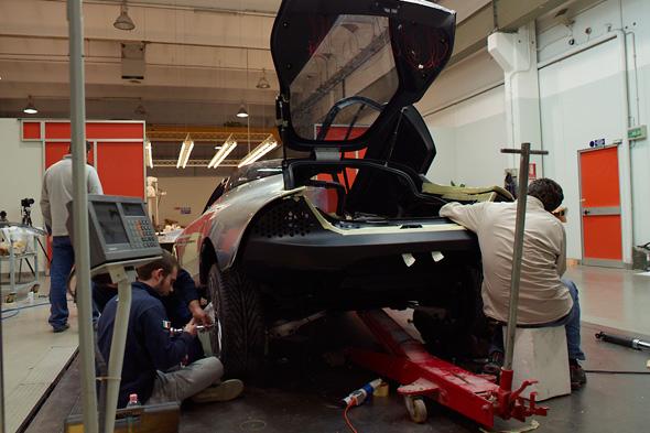"Making of: Saab PhoeniX Concept Car, Bilder exklusiv ""Car Magazine"""