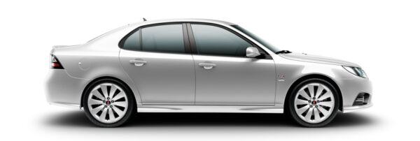 Saab 9-3 Griffin, diamond silver metallic