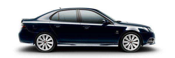 Saab 9-3 Griffin, Nocturn Blue Metallic