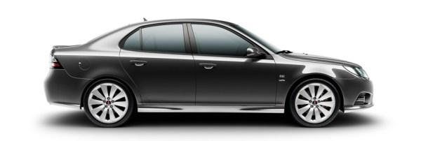 Saab 9-3 Гриффин, серый серый металлик