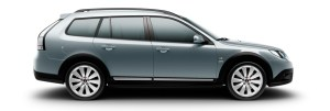 Saab 9-3x Griffin, Alufelgen 7,5x18 Alu90