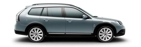 Saab 9-3x Гриффин, сплавные колеса 7,5x18 Alu90