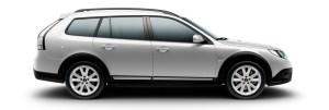 Saab 9-3x Griffin Diamantsilber metallic