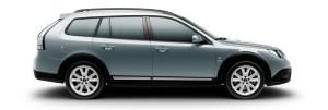 Saab 9-3x Griffin Gletschersilber metallic