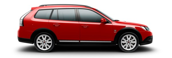 Saab 9-3x Griffin Laser Red