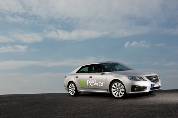 Saab 9-5 Bio Power, Flexifuel, protect the environment with E85