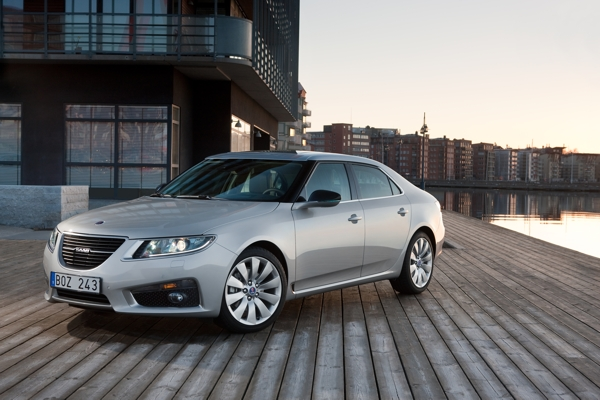 Saab 9-5 also with XWD and eLSD