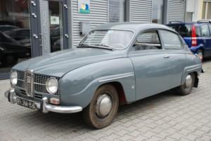 Saab 96, construído em 1967 no Ebay.