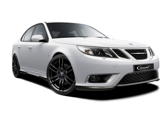 Saab 9-3 Hirsch Performance, Carbon Body Kit, Hirsch Felgen, absolut Cool