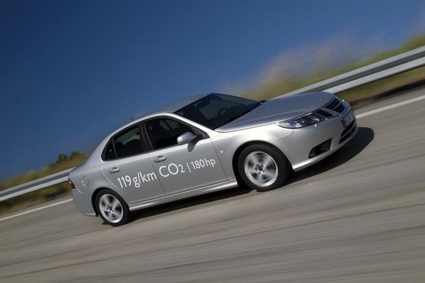 Saab 9-3 Limousine, Umweltdiesel mit 180 PS