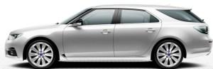 Saab 9-5 SportCombi, Diamond Silver
