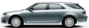 """Saab 9-5 Sportkombi Stahlfelgen 17"""" mit Abdeckungen"""